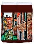Venezia Mi Amor Duvet Cover
