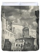 Venice. A View From The Other Bridge Duvet Cover