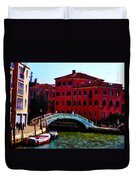 Venice Bow Bridge Duvet Cover