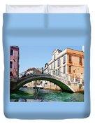 Venice Bridge Duvet Cover