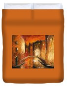 Venice By Night 07 Duvet Cover