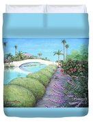 Venice California Canals Duvet Cover