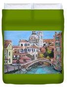 Venice Canals Duvet Cover