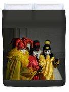 Venice Carnival Duvet Cover