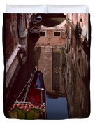 Venice Gondola Duvet Cover