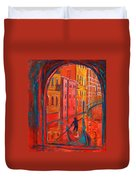 Venice Impression Viii Duvet Cover by Xueling Zou