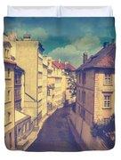 Venice In Prague Duvet Cover