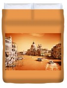Venice Italy Grand Canal Duvet Cover