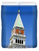 Venice Italy - St Marks Square Tower Duvet Cover