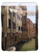 Venice Laundry Day Duvet Cover