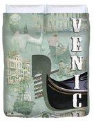 Venice Montage 2 Duvet Cover