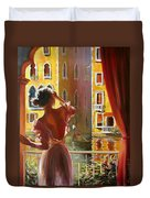 Venice Morning. Duvet Cover