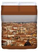 Venice Italy - No Canals Duvet Cover