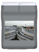 Venice People Mover Duvet Cover