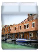Venice Reflections - Italy Duvet Cover