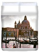 Venice The Grand Canal Duvet Cover