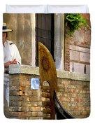 Venice Valet Duvet Cover