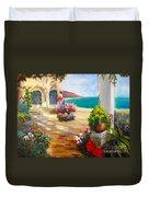 Venice Villa Duvet Cover