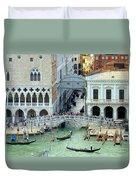 Venice's Bridge Of Sighs Duvet Cover