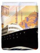 Venise Vintage Travel Poster Duvet Cover
