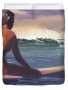 Ventura Surfer Girl Duvet Cover