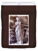 Venus De Milo - Louvre Duvet Cover