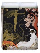 Venus Duvet Cover by Georges Barbier