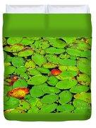Verdant Swamp Duvet Cover