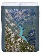 Verdon River  Duvet Cover