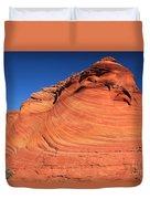 Vermilion Mounds Duvet Cover