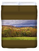 Vermont Colors Duvet Cover