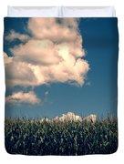 Vermont Cornfield Duvet Cover by Edward Fielding
