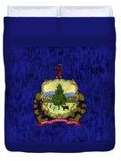 Vermont Flag Duvet Cover