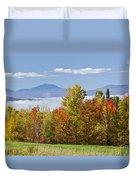 Vermont October Morning Duvet Cover