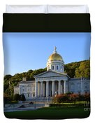 Vermont State House Duvet Cover