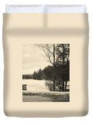 Vermont Winterland Duvet Cover