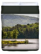 Vermonts Lake Fairlee Duvet Cover