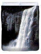 Vernal Falls Profile Duvet Cover