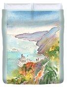 Vernazza In Italy 06 Duvet Cover