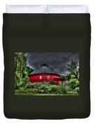 Vernon County Round Barn Duvet Cover