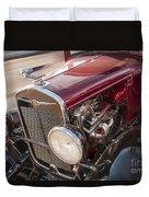 Very Cool Vintage 1930 Chrysler Hot Rod  Duvet Cover