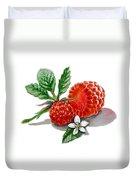 Artz Vitamins A Very Happy Raspberry Duvet Cover