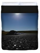 Very Hard Tarmac - Boeing 787 Duvet Cover by Marcello Cicchini