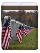 Veterans Day Duvet Cover
