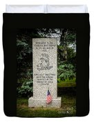 Veterans Memorial Duvet Cover