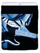 Vh #3 In Blue Duvet Cover