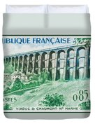 Viaduct Chaumont Haute-marne Duvet Cover