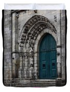 Viana Do Castelo Cathedral Duvet Cover by James Brunker