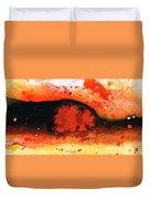 Vibrant Abstract Art - Leap Of Faith By Sharon Cummings Duvet Cover
