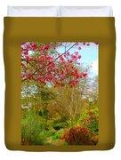 Vibrant Garden  Duvet Cover